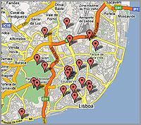 Lisboa - espaços públicos com wireless