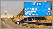 Auto-Estrada 23 - Torres Novas-Vilar Formoso