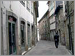 Rua antiga da cidade daGuarda