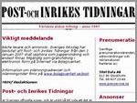 Jornal da Suécia - O mais antigo do Mundo