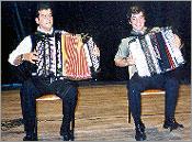 Rodrigo Mauricio e José Cláudio -Acordeonistas
