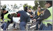 Manifestação contra o encerramento das urgências