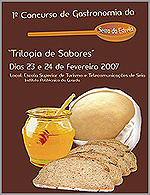 1.º Concurso de Gastronomia da Serra daEstrela