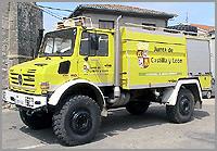 Veiculo de combate a incendios florestais(Navasfrias)