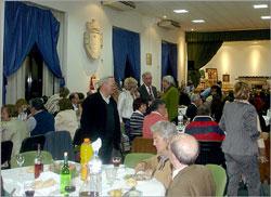 Jantar no salão da Junta de Freguesia do Sabugal