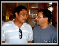 Eusébio e Paulo Leitão Batista - Imagem da Semana (18-6-2007)