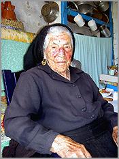 Ana Vasca, em casa, junto ao basal