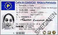Carta de conduçãoportuguesa