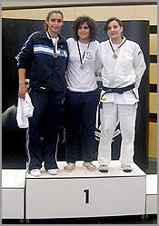 Carla Vaz, judoca sabugalense, nos 120 anos da Associação Académica deCoimbra