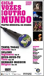 Ciclo «Vozes do outro Mundo» noTMG
