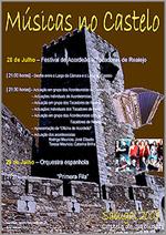 Músicas no Castelo