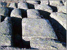 Afloramentos graniticos da Serra dasMesas