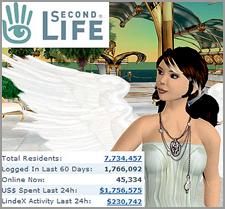Second Life - Jogo de vida virtual naInternet