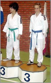Miguel (cinturão azul) no Campeonato Nacional de Juvenis2007