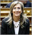 A deputada AnaManso