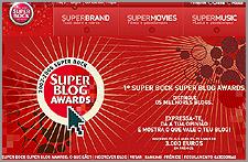 Concurso «Super Bock Super BlogAwards»