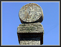 Relógio de Sol na Ruvina – Imagem da Semana (05-11-2007)