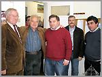 Porf�rio Ramos, Tó Chorão, António Robalo, Filipe Ribeiro e Manuel Leitão