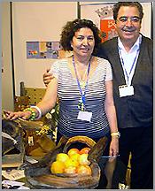 Maria Adozinda e Francisco Gonçalves na FIL em Lisboa(2007)