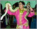 Domadora de serpentes
