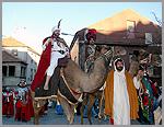 Reis Magos a caminho do Castelo do Sabugal