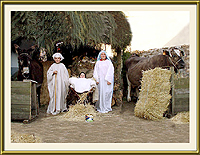 Presépio vivo – Imagem da Semana (31-12-2007)