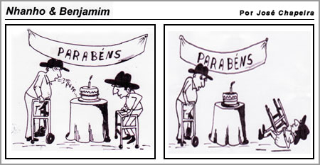 Cartoon de José Chapeira (10-3-2008)