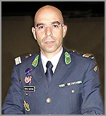 Major Cunha Rasteiro (Comandante do Grupo Territorial da GNR da Guarda)