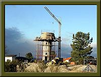 Construção da estação elevatória de água da Ruvina – Imagem da Semana (3-3-2008)