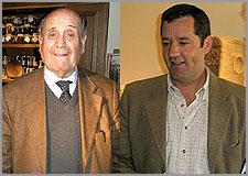 Manuel Leal Freire e Manuel Meirinho