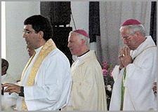 Padre Américo Barroca, D. Manuel Felicio e D. José Alves