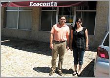 Luis Carlos Lages e esposa