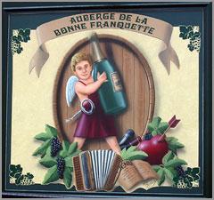 Au albergue Auberge de La Bonne Franquette