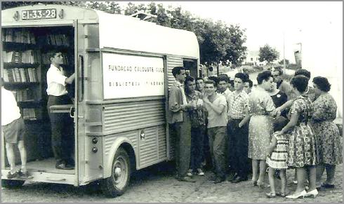 Carrinha Itinerante da Gulbenkian