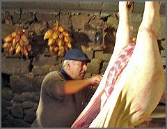 Abrindo o porco