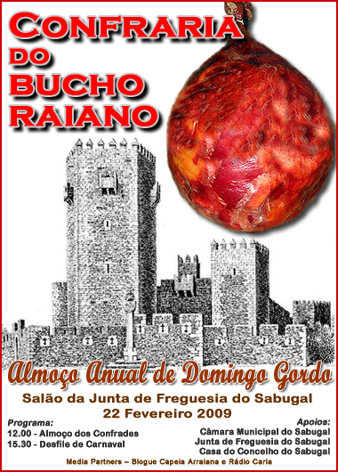 Almoço da Confraria do Bucho Raiano