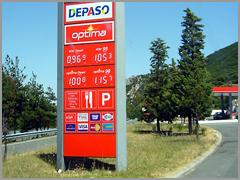 Estação de Venda de Combustiveis