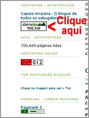 Clique no Sitemeter