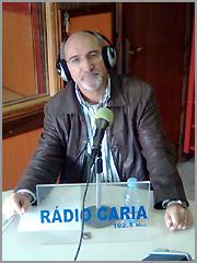 Joaquim Ricardo na Rádio Caria