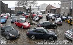 Concentração Porsche no Largo do Castelo do Sabugal