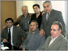 Paulo Leitão Batista, Paulo Saraiva, José Morgado, António Chorão, Horácio Pereira e José Carlos Lages