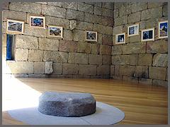 Exposição no castelo de Pinhel
