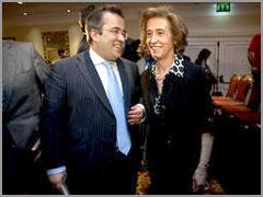 Paulo Rangel e Manuela Ferreira Leite