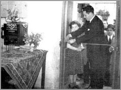 Inauguração telefone