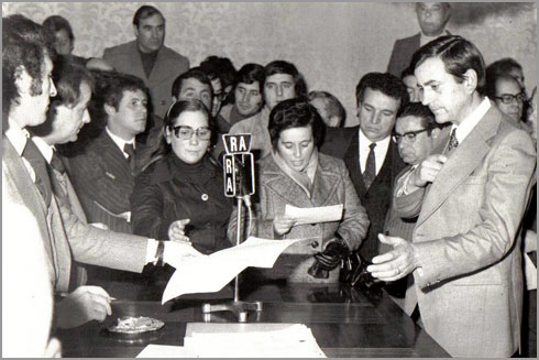 Tomada de posse do Presidente da Câmara Municipal do Sabugal em 1977