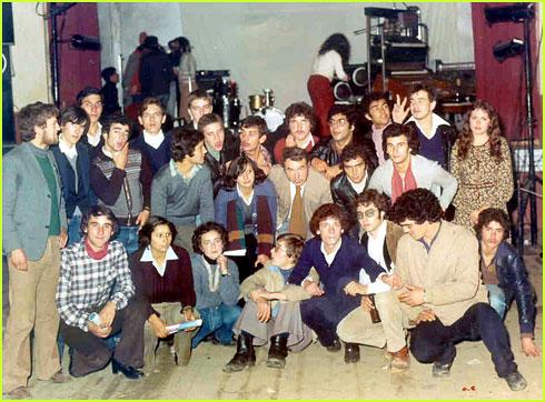 Baile de Finalistas do Colégio do Sabugal em 1978