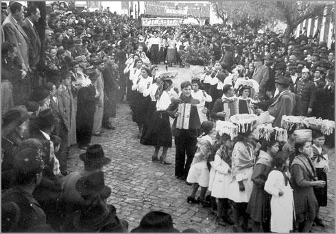 Cortejo de Oferendas - Sabugal - 1947