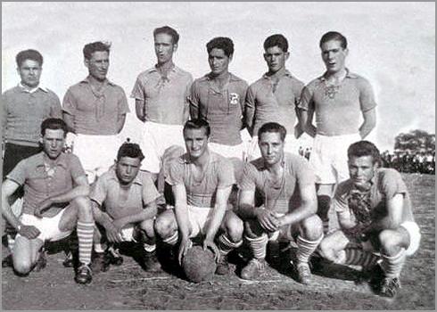 Equipa de Futebol do Soito nos anos 50