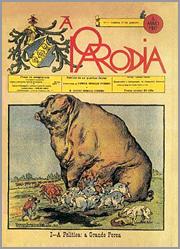 «A Porca da Política» de Rafael Bordalo Pinheiro