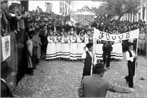 Cortejo de Oferendas - Fóios - 1947